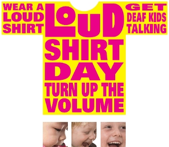 Loud Shirt Day Oct 26